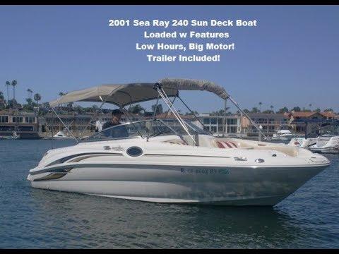 Sea Ray 240 Sundeck video