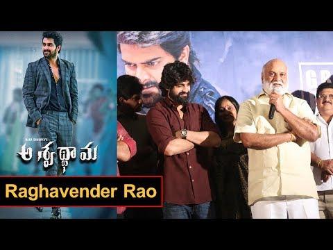 Raghavender Rao at Ashwathama Movie Team Pressmeet Event