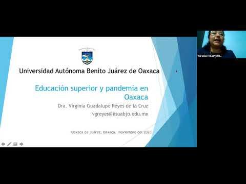 Educaciòn en tiempos de pandemia/Virginia Guadalupe Reyes de la Cruz/UABJO/OAXACA