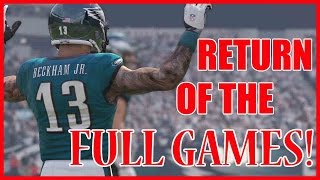 RETURN OF THE FULL GAMES!!  - Madden 16 Ultimate Team | MUT 16 PS4 Gameplay