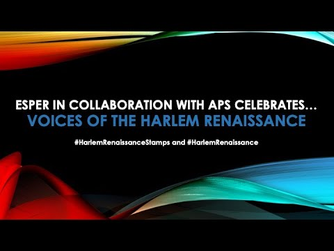 Harlem Renaissance Stamp Celebration