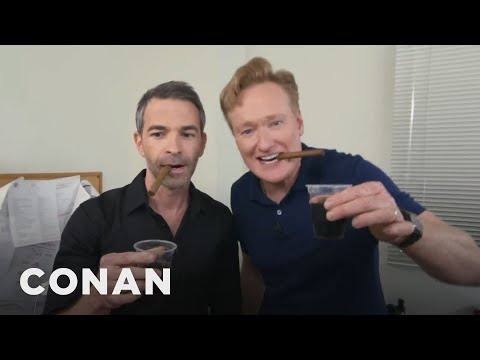 Conan Throws Jordan Schlansky A Bachelor Party  - CONAN on TBS (видео)