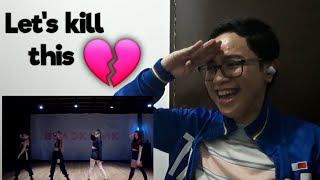 Filipino K-Pop Fanboy reacts to BLACKPINK-'Kill This Love' DANCE PRACTICE VIDEO | Ardy Sale