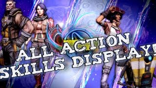 Borderlands Pre Sequel! ALL CHARACTERS ACTION SKILLS!