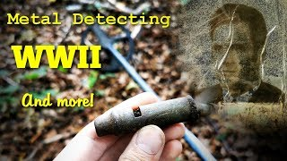 Metal Detecting WW2 - AWESOME Whistle found on WWII Firing Range - STOLEN bags - Old Coins and more!