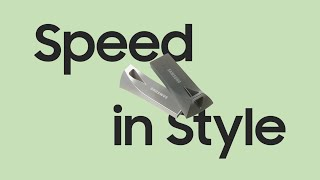 Samsung USB Flash Drive BAR Plus: Speed in Style