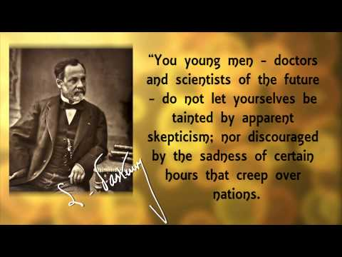 Great Scientists: Louis Pasteur and The Germ Theory – David Rives