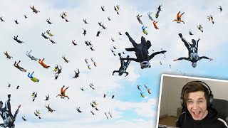 100 PLAYERS DROPPED AT THE SAME TIME! | PUBG MOBILE