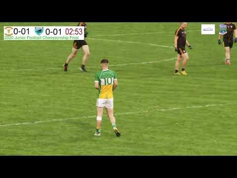 Fermanagh Junior Football Championship 2020 FInal LIVE - Coa O'Dwyers v Derrylin O'Connells.