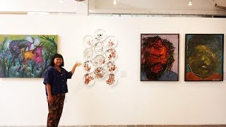 Sebanyak 15 Seniman Ramaikan Pameran DenPasar 2018
