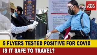 5 Passengers Tested Positive For COVID-19 After Domestic Flights Resume Services - Download this Video in MP3, M4A, WEBM, MP4, 3GP