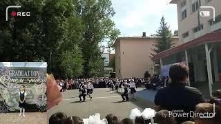 Бэк ту скул. Танец на 1 сентября. Линейка в 105 гимназии Алматы