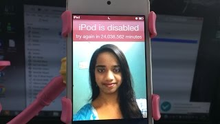 How to Unlock ANY IPOD Without the Passcode WITH COMPUTER