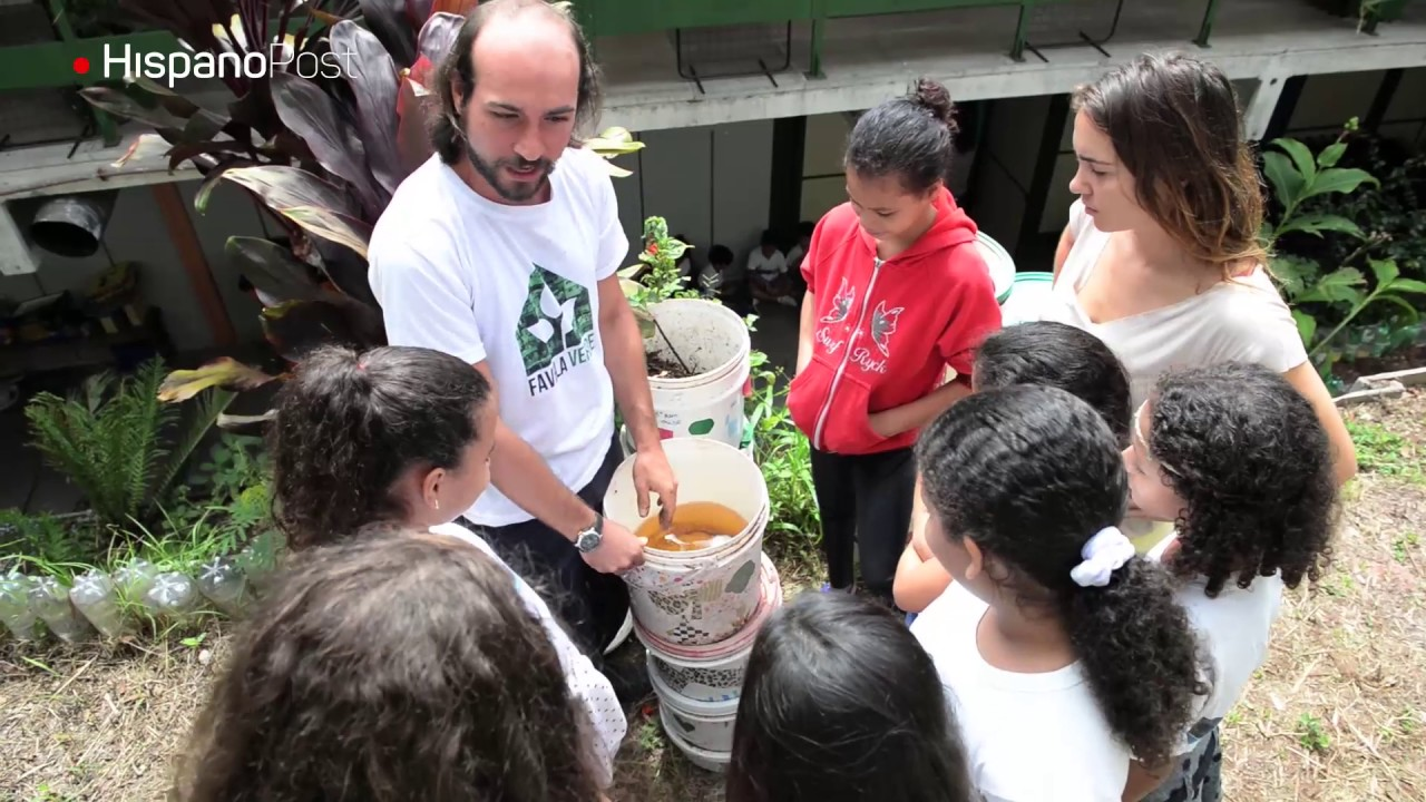 La ONG Favela Verde transforma la Rocinha a través del medio ambiente