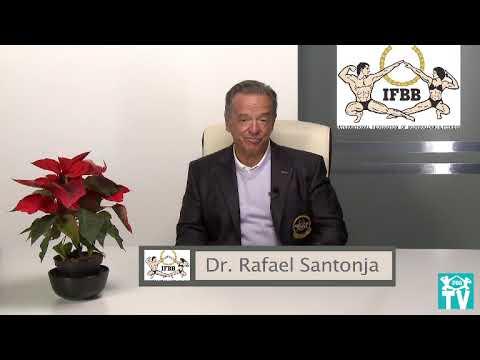 Rafael Santonja. IFBB President. Feliz Navidad