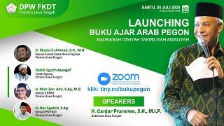 Live | Launching Virtual ' Buku Ajar Arab Pegon' Madrasah Diniyah Takmiliyah Awwaliyah