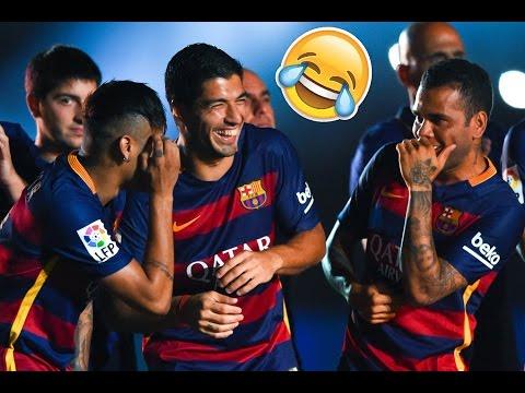 FC Barcelona Funny Moments 2017