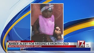 Amber Alert Issued For Infant Abducted In Bladen County