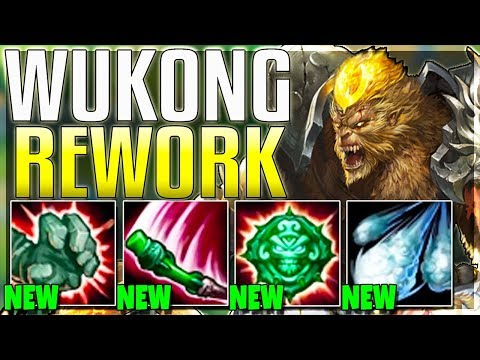 *New* Wukong Rework Is Actually INSANE! Clones Can Now ATTACK? - Reworked Wukong Gameplay | LoL