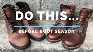 2 SIMPLE, MUST DO Steps BEFORE Wearing Your Boots This Season