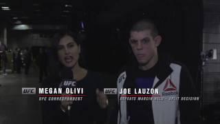Fight Night Phoenix: Joe Lauzon Backstage Interview