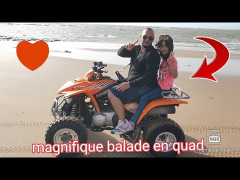 Magnifique balade en quad au Maroc Essaouira avec assia😍😊🥰