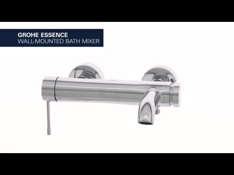 Grohe Essence badkraan supersteel