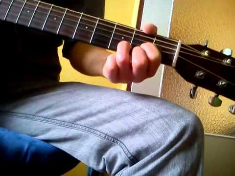 How to freestyle with Basic Guitar Chords E A D