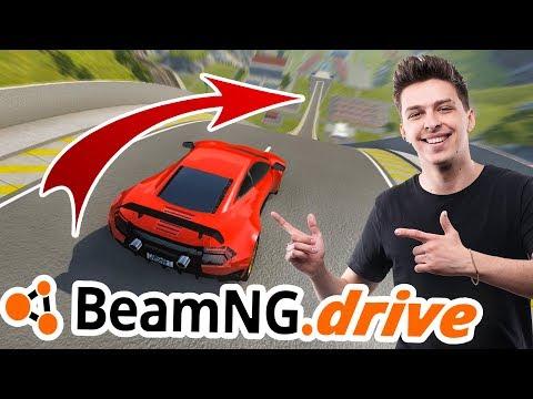 LAMBO VS SKOKANSKÝ MŮSTEK| BeamNG.drive