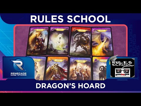 Learn How to Play Dragon's Hoard (Rules School) with the Game Boy Geek