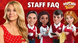 My Cafe: Staff and their skills