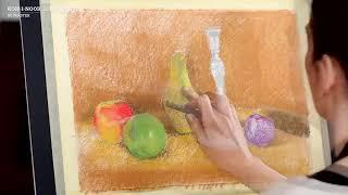"""Пастель мягкая художественная KOH-I-NOOR """"Toison D'or"""", 12 цветов, круглое сечение, 8512012005KS"""