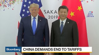 China Demands End to Tariffs
