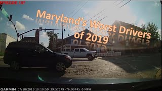 Maryland's Worst Drivers of 2019