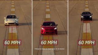 Kia Stinger GT, Porsche Panamera, BMW 640i Performance