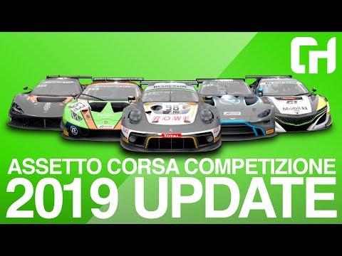 Happy New Year! Assetto Corsa Competizione 2019 Season Update [V1.1 Update]