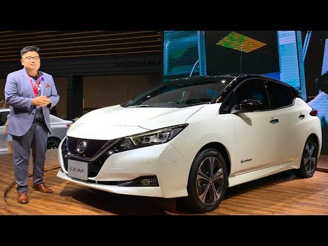 KLIMS18: New Nissan Leaf electric vehicle and e-Power hybrid tech in Malaysia