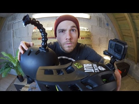 How-To: GoPro an Halbschalenhelm befestigen - Enduro und Dirt Jump