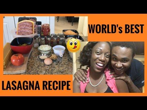 FOOD | BEST LASAGNA RECIPE