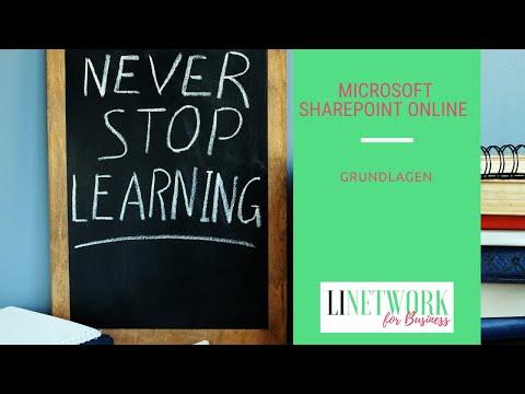 Microsoft Sharepoint Online Grundlagen