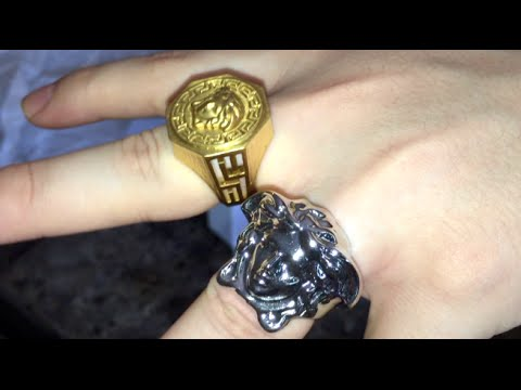 Versace Ring Unboxing ✨
