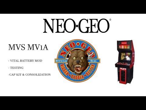 UPDATED - Consolized Neo Geo MVS - Mod time! 4K - Retro Core - Video