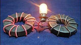 Free Energy Generator 2 Magnet Coil 100% Real New Technology New Idea Project