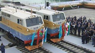 Азербайджан, Турция и Грузия открыли «новый Шёлковый путь» (новости)
