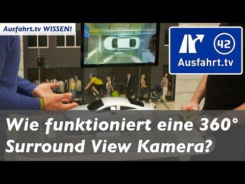 Wie funktioniert eine 360 Grad Kamera / Surroundview Kamera / Birdview Kamera? Ausfahrt.tv Wissen