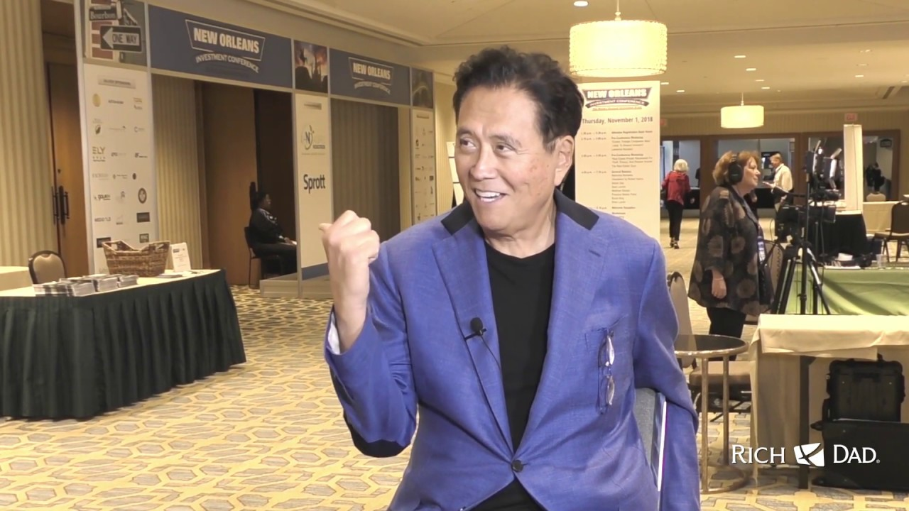 Robert Kiyosaki's Adventures As A Gold Entrepreneur