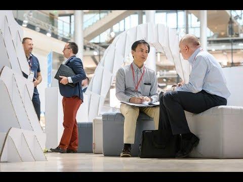 bei den HTVD18 trafen 163 internationale Investoren auf die 40 besten Hochtechnologie Startups aus ganz Europa