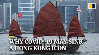 Hong Kong's last authentic Chinese sailing junk struggles to stay afloat during Covid-19 pandemic