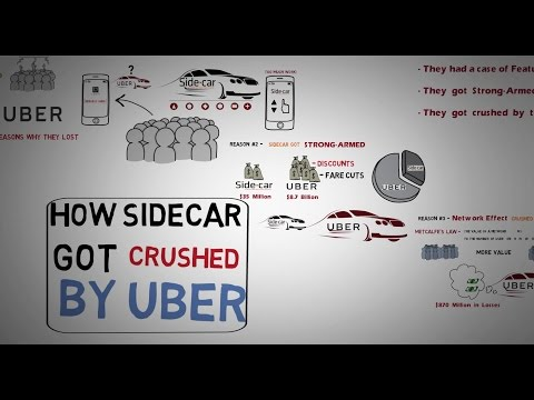 Failed Startup - How Uber beat SideCar