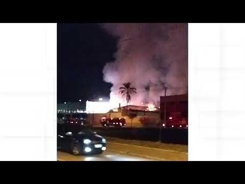Incêndio atinge fábrica, em Nova Friburgo, pela segunda vez em três meses